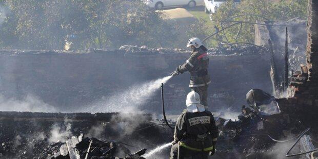 37 Tote bei Brand in psychiatrischer Klinik