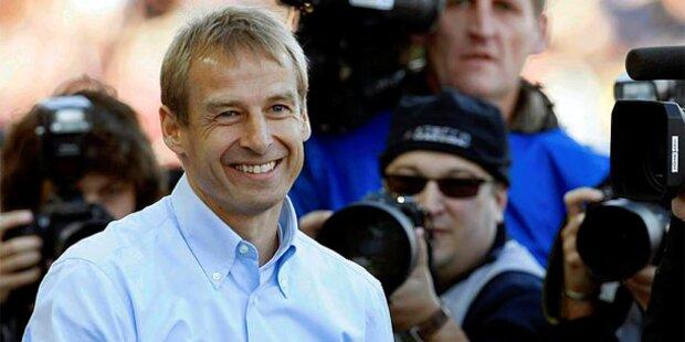 Klinsmann-Klartext zu Trainer-Gerüchten