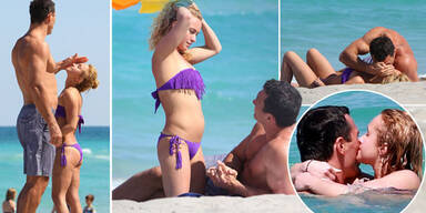 Panettiere: Sexy Liebes-Show am Strand
