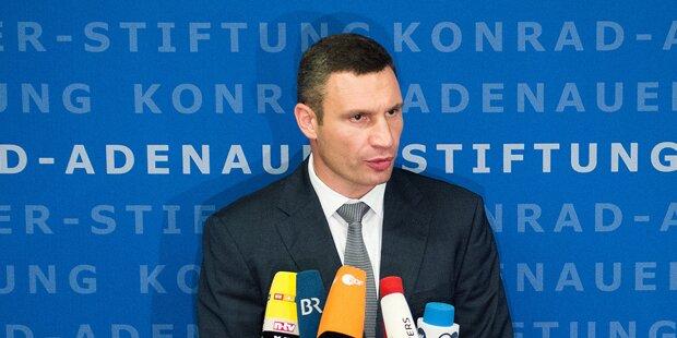 Klitschko gibt Posten als Parteivorsitzender ab
