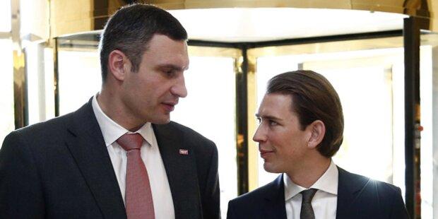 Kurz holt Klitschko nach Linz