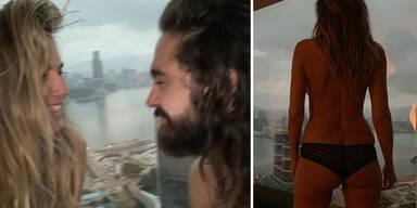 Klum: Sexy Nacktshooting mit Tom