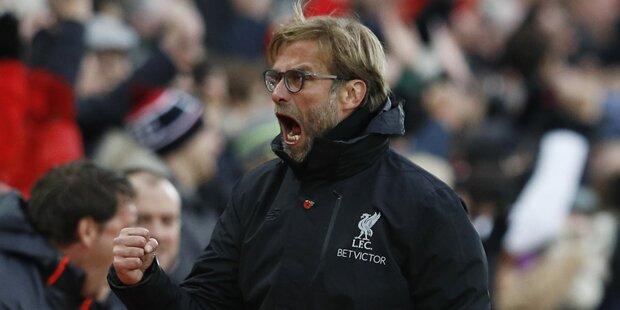 Liverpool mit Kantersieg an die Spitze