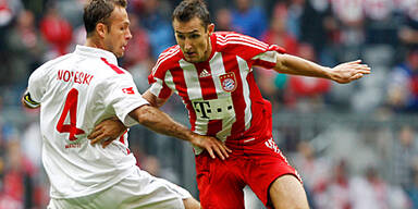 Muskelfaserriss bei Miroslav Klose