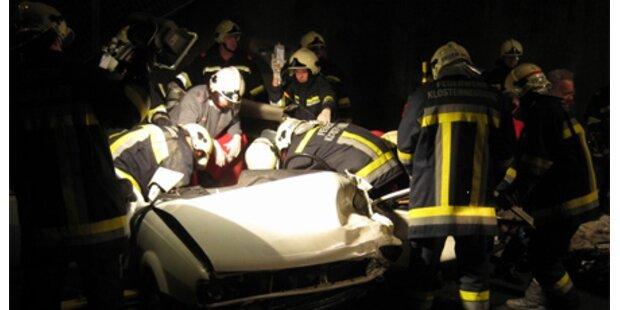 Mann starb bei Frontalkollision in NÖ