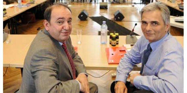 SPÖ-Klub nach Wahldebakel in Klausur