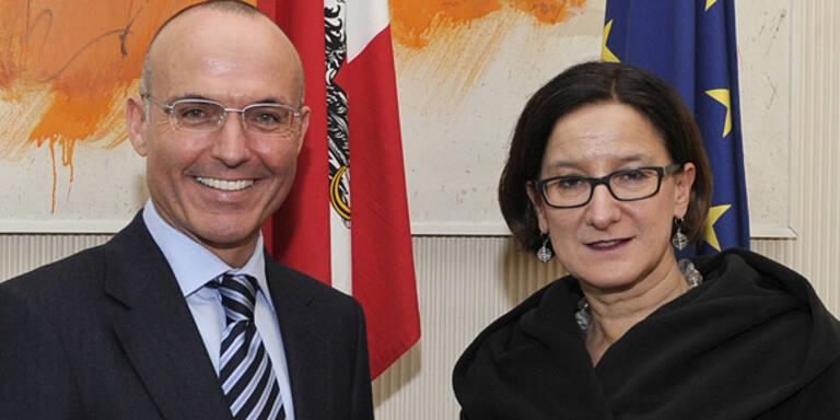 Klug verhandelt erstmals Heeres-Reform