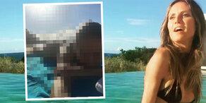 Heidi Klum zieht komplett blank