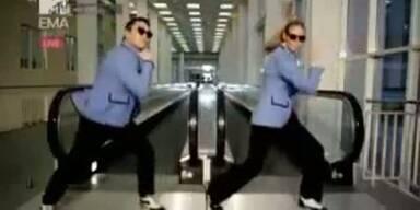 "Heidi Klum tanzt ""Gangnam Style"""