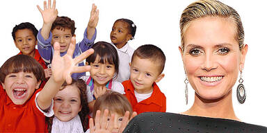 Heidi Klum TV Show Kinder