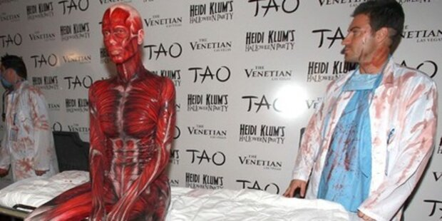 Heidi Klum schockt mit Horror-Kostüm