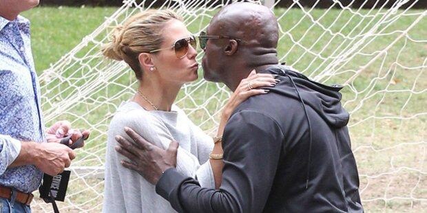 Erwischt! Heidi Klum küsst jetzt wieder Seal