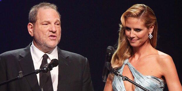Weinstein-Skandal: Sogar Heidi Klum betroffen
