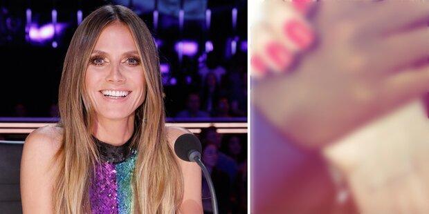 Heidi Klum: Liebestattoo für ihren Tom