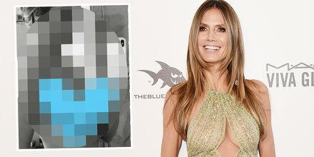 Heidi Klum: Shitstorm für dieses Nacktfoto