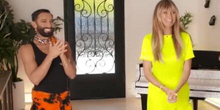 Heidi Klum postet lustiges Video mit Conchita
