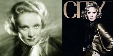 Heidi als Marlene Dietrich