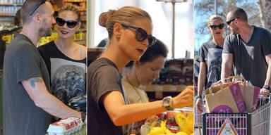 Heidi Klum: Einkaufen mit Martin Kristen