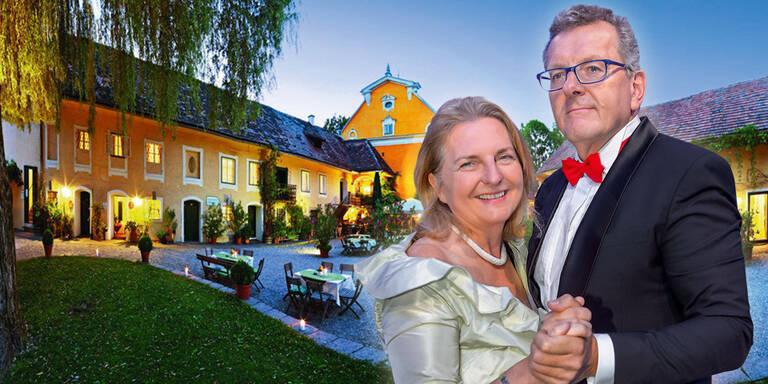 Polizei verhängte Platzverbot für Kneissl-Hochzeit