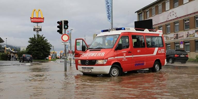 Unwetterwarnung in ganz Österreich
