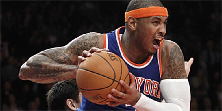 Anthony bescherte Knicks Derby-Erfolg