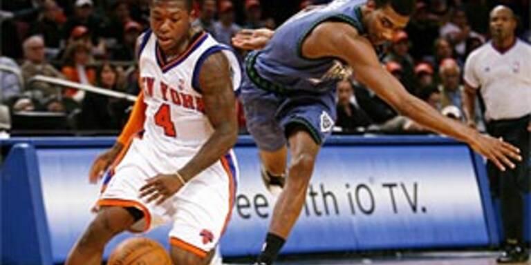 Knicks vermeiden Fehlstart
