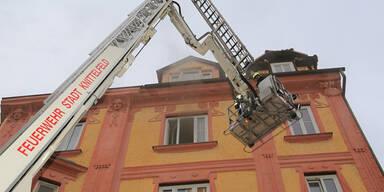 Feuer: Wohnhaus in Knittelfeld evakuiert