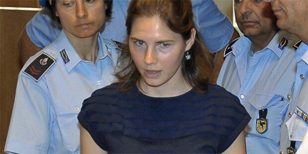 DNA-Spuren entlasten Amanda Knox