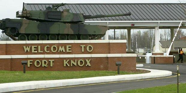 Fort Knox: Ein Toter bei Schießerei