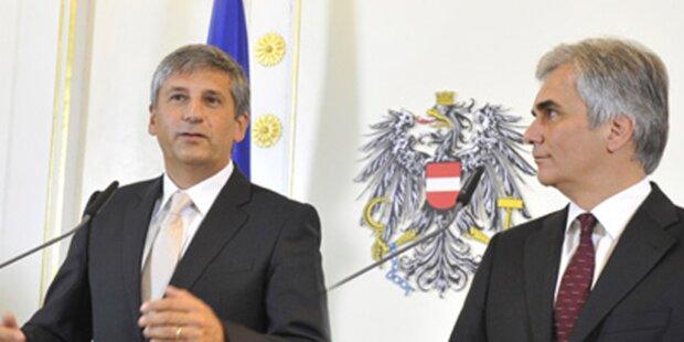 Neue Koalition in Österreich Das sind die Minister