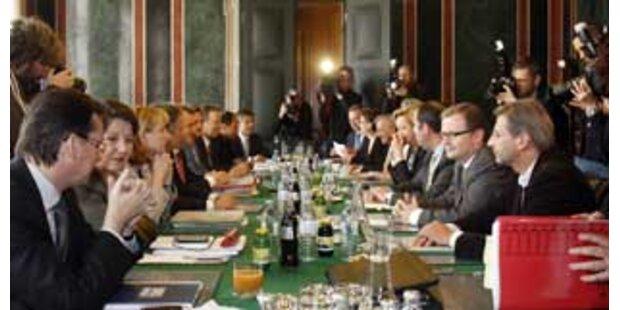 Poststreit überschattet Koalitions-Rechenrunde