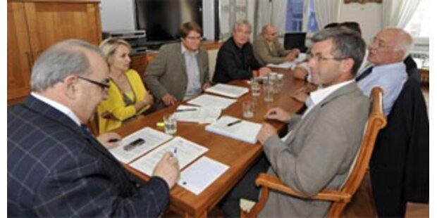 ÖVP und SPÖ starteten Verhandlungen in Tirol