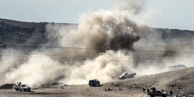 Kurden drängen ISIS in Kobane zurück