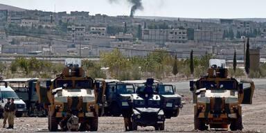 IS zieht sich aus Kobane zurück