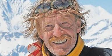 Extrem-Bergsteiger im Blizzard erfroren