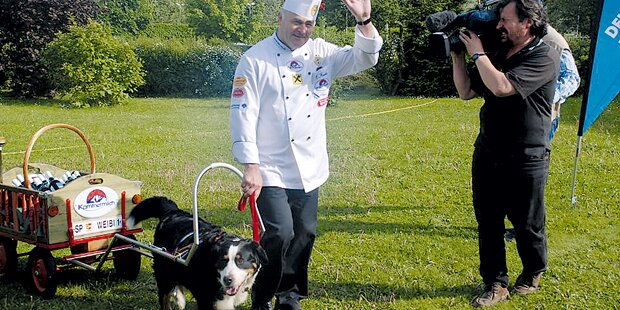 Diebin stahl Koch Auto samt Hund