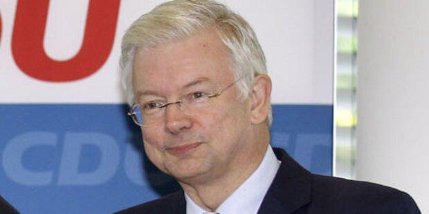 Ministerpräsident Koch tritt ab