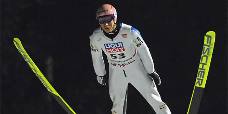 Martin Koch erzielte mit 220,5 m Tagesbestweite. (c)APA