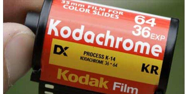 Aus für Kodak-Farbfilm nach 74 Jahren