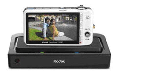 Kamera-Dock bringt HD-Fotos auf den Fernseher