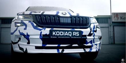 Skoda greift mit dem Kodiaq RS an