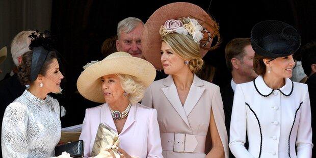 Selten: Auftritt der (künftigen) Königinnen