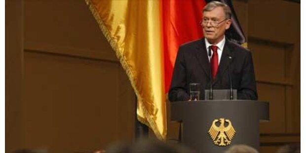 Deutschland feiert 60 Jahre Republik