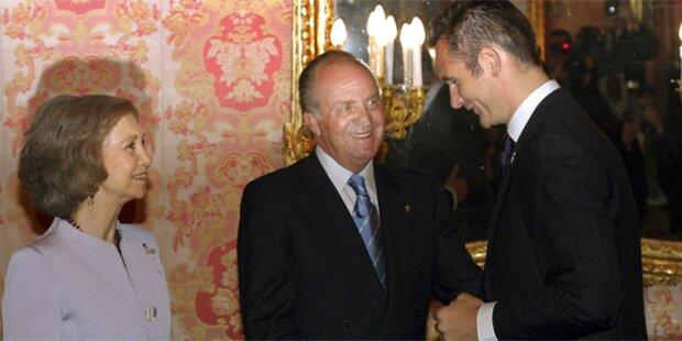 Spaniens König wirft Schwiegersohn raus