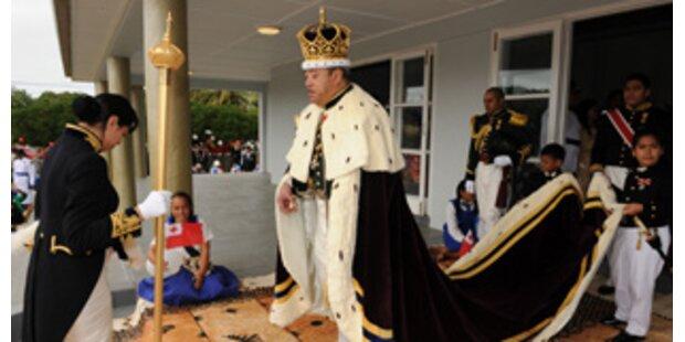 Der neue König von Tonga wurde feierlich gekrönt