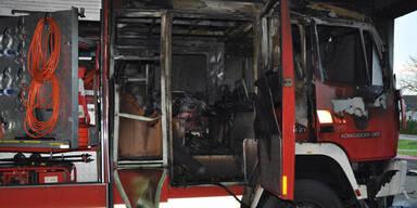 Jennersdorf: Brand in Feuerwehrhaus