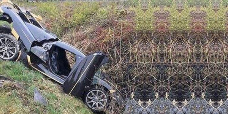2 Mio. Euro teures Hypercar geschrottet