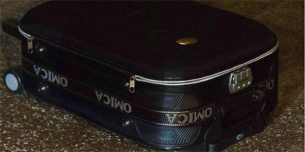 Baby in Koffer in Hamburg entdeckt