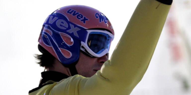 Schweizer Ammann siegte in Lahti vor Kofler