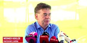 Werner Kogler wird Grünen-Spitzenkandidat